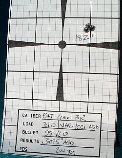 6BR target