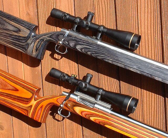 6mm BR light & heavy gun